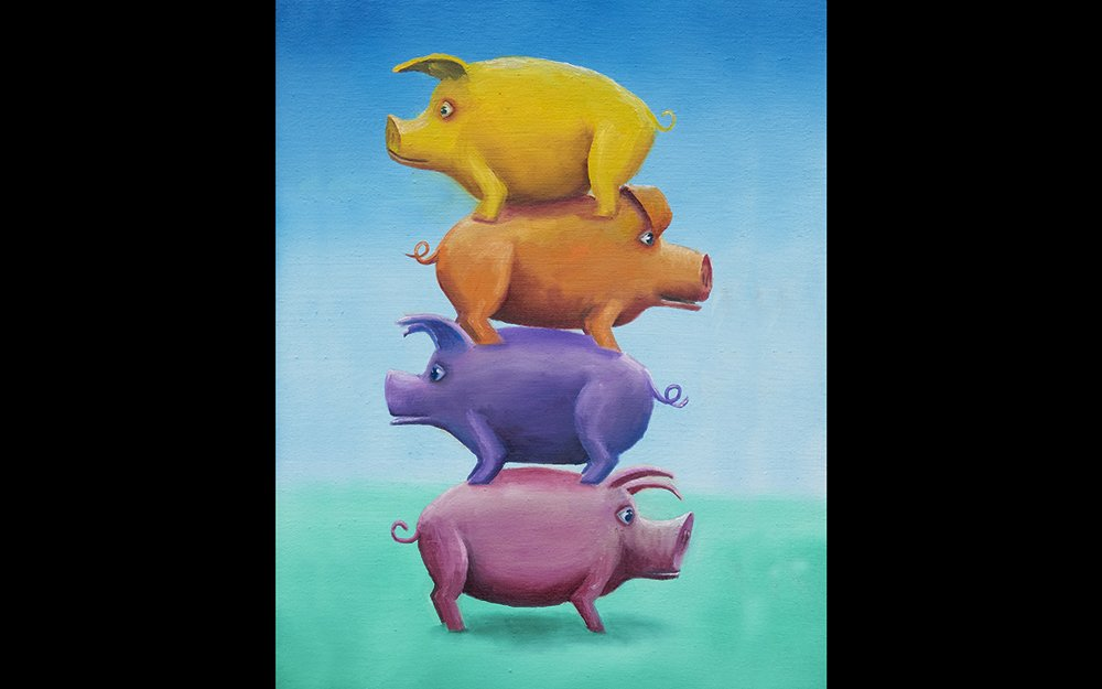 Pigs - Four Different Ones