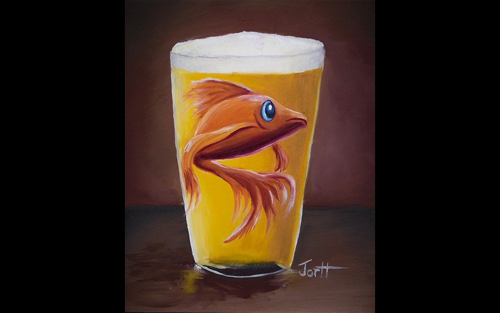 Oh Bartender, There's a Goldfish in my Beer.